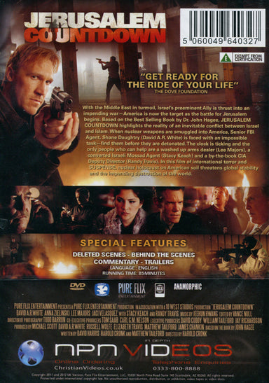 Image of Jerusalem Countdown DVD other