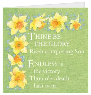 Image of Thine Be The Glory Easter Cards - Pack of 5 other