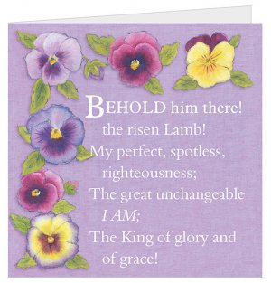 Image of Behold Him There! Easter Cards - Pack of 5 other