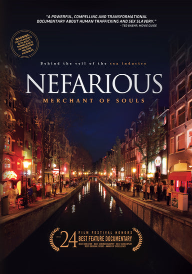Image of Nefarious: Merchant of Souls DVD other
