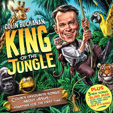 Image of Colin Buchanan: King of the Jungle CD other