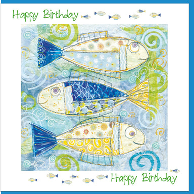 Image of Birthday Fish Greetings Card other
