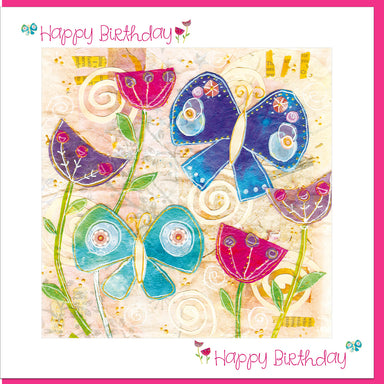 Image of Birthday Butterflies Greetings Card other