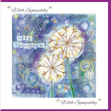 Image of Sympathy Dandelion Greetings Card other
