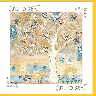 Image of Just To Say Greetings Card other