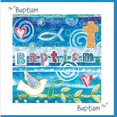 Image of Baptism Fish Greetings Card other