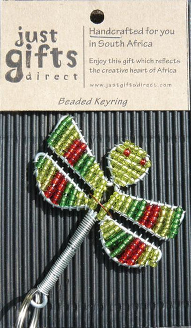 Image of Beaded Dragonfly Keyring other