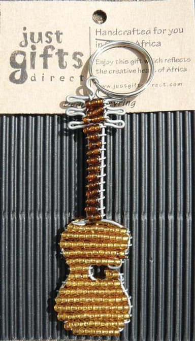 Image of Beaded Guitar Keyring other