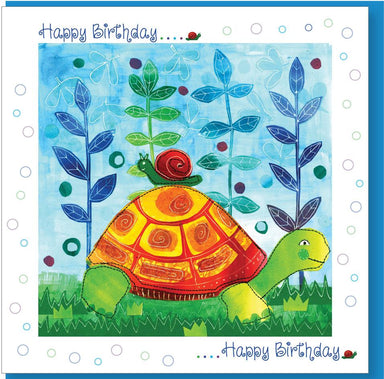 Image of Birthday Tortoise Greetings Card other