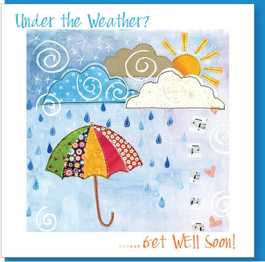 Image of Under the Weather Greetings Card other