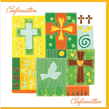 Image of Confirmation Crosses Greetings Card other