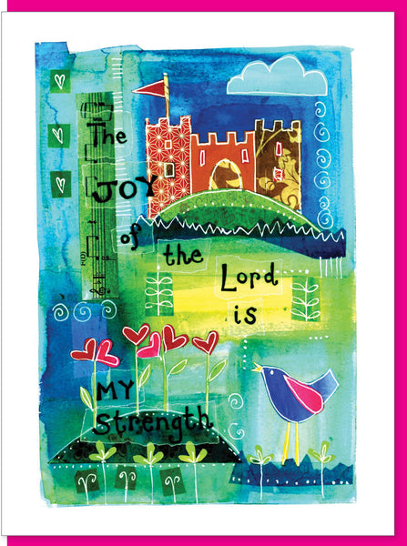 Image of The Joy of the Lord Greetings Card other