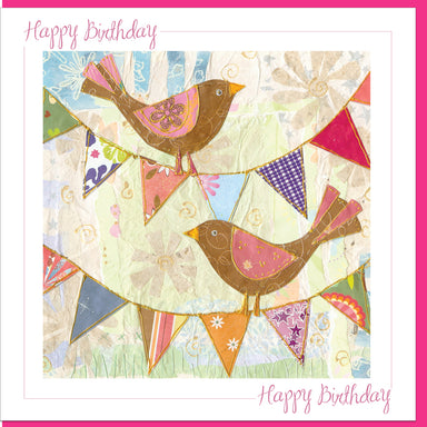 Image of Birthday Birds Greetings Card other