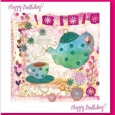 Image of Birthday Teapot Greetings Card other