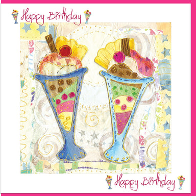 Image of Birthday Ice Cream Greetings Card other