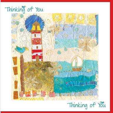Image of Stormy Day Thinking of you Greetings Card other