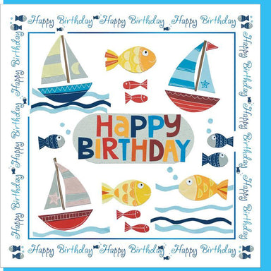 Image of Seaside Birthday  Greetings Card other