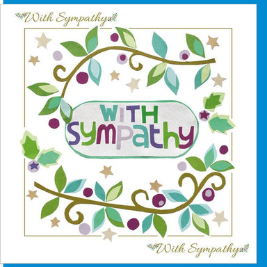Image of Sympathy Vine  Greetings Card other