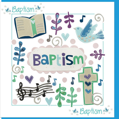 Image of Baptism Time  Greetings Card other