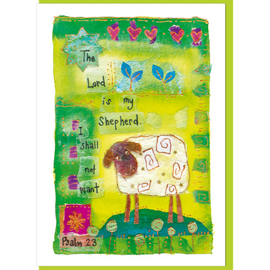 Image of Psalm 23 Greetings Card other