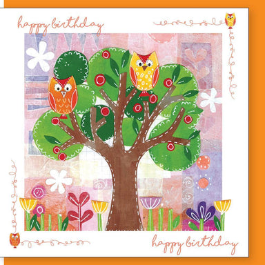 Image of Owl birthday Greetings Card other