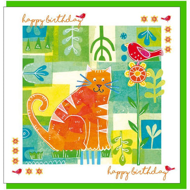 Image of Cat birthday Greetings Card other