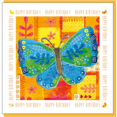 Image of Birthday butterfly Greetings Card other