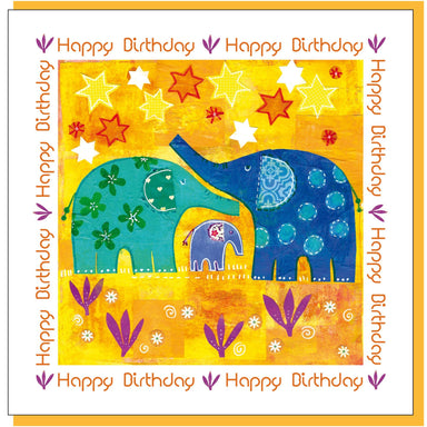 Image of Elephant birthday Greetings Card other