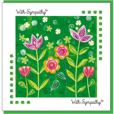 Image of Sympathy garden Greetings Card other