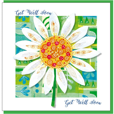 Image of Get well daisy Greetings Card other