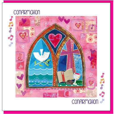 Image of Confirmation Window Greetings Card other