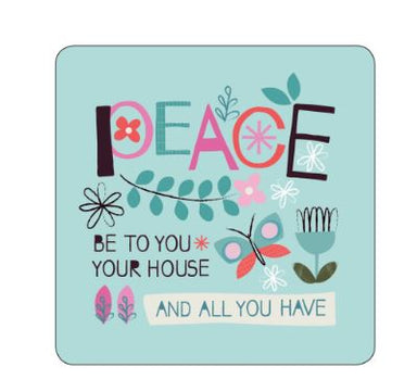 Image of Peace to You Coaster other