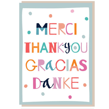 Image of Thank you, Gracias Greetings Card other