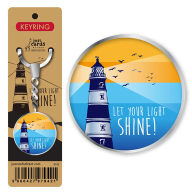 Image of Let your light shine Keyring other