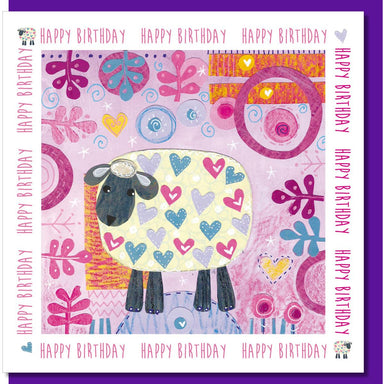 Image of Birthday sheep Greetings Card other