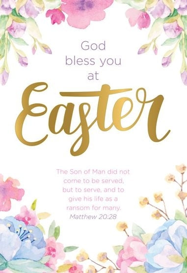 Image of God Bless You at Easter Charity Easter Cards Pack of 5 other