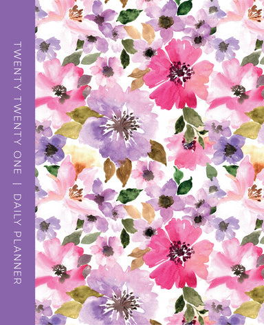 Image of 2021 Large Daily Planner: Floral other