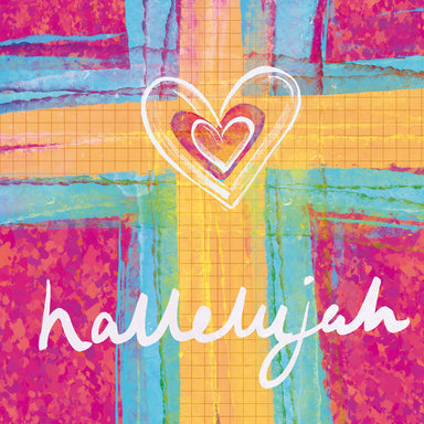 Image of Hallelujah Heart Easter Cards Pack of 5 other