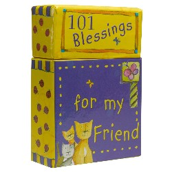 Image of 101 Blessings for My Friend Box of Blessings other