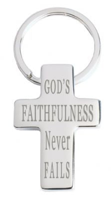 Image of God's Faithfulness - Metal Keyring other