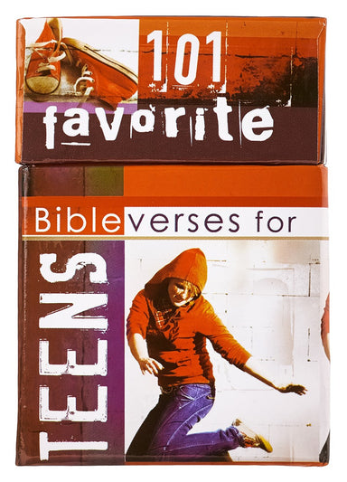 Image of 101 Favorite Bible Verses for Teens Box of Blessings other