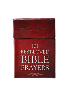Image of 101 Best Loved Bible Prayers -  Box of Blessings other