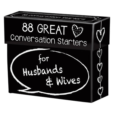 Image of 88 Great Conversation Starters For Husbands & Wives other