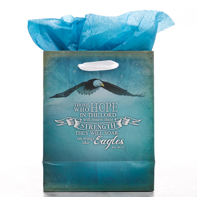Image of Gift Bag Small - Soar Like Eagles other