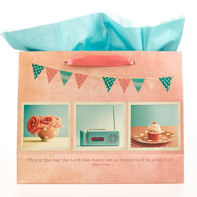 Image of This is the Day -  Ps 118:24  Large Gift Bag other