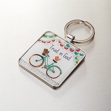 Image of Trust in God - Philippians 4:6 Keyring other