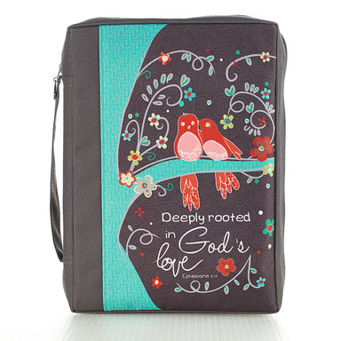 Image of Deeply Rooted in God's Love Poly-canvas Value Bible Cover -  Ephesians 3:17 other