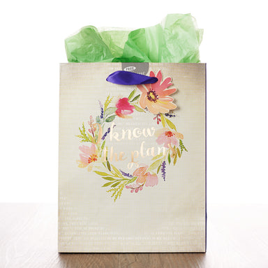 Image of I Know the Plans - Jer 29:11 Medium Gift Bag other