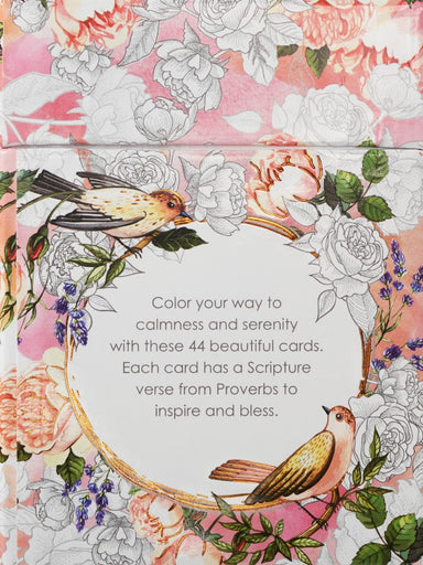 Image of Proverbs in Colour Box of Blessings other