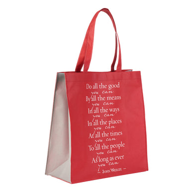 Image of Do All The Good You Can - John Wesley Tote Bag other